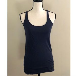 Vince Navy Double Layer Tank